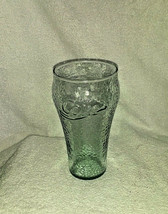 "Coca Cola Juice Glass Green Glass 4 1/2"" - $10.44"