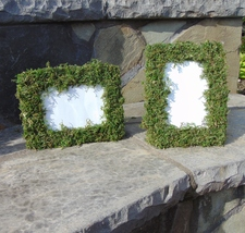 """8-4""""x 6"""" Moss Covered Wedding Table number frames escort table escort ca... - €53,66 EUR"""