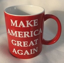 TRUMP MAGA CUP MUG Red  MAKE AMERICA GREAT AGAIN COFFEE TEA PRESIDENT NEW  - $13.79
