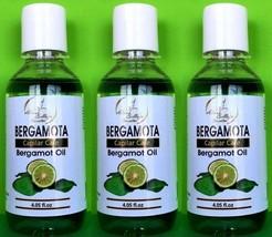 3x Aceite De BERGAMOTA Capilar Care Bergamot Oil Great For Beard & Hair ... - $22.69