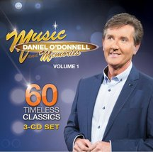 MUSIC AND MEMORIES by Daniel O'Donnell - 3 CD