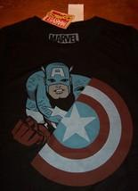 WOMEN'S TEEN CAPTAIN AMERICA Marvel Comics T-shirt XS NEW THE AVENGERS - $19.80