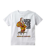 MARCUS MOSIAH GARVEY Quote Graphic White T-Shirt Black History, unia, rb... - $17.99+