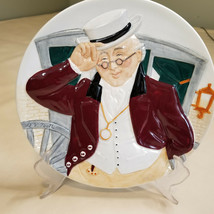MR PICKWICK Plate by Douglas Tootle Davenport Pottery Co. England Number... - $9.89