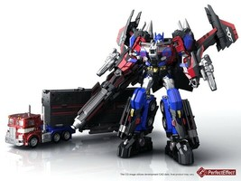 Transformers PerfectEffect PE DX10 Jetpower Revive Optimus Prime Action ... - $181.25