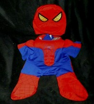 BUILD A BEAR SPIDERMAN BODY SUIT OUTFIT W/ MASK COSTUME FITS MOST STUFFE... - $18.70