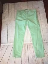 NeW Joe Joe's Ultra Slim Fit Green Corduroy jeans 31 Women's CHELSEA  Ankle - $38.52