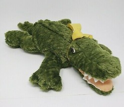 "15"" MARY MEYER FLIP FLOPS GREEN ALLIGATOR CROCODILE STUFFED ANIMAL PLUSH... - $25.76"