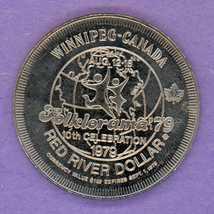 1979 Winnipeg Manitoba Trade Token Edward Schreyer Folklorama'79 Maple L... - $3.00