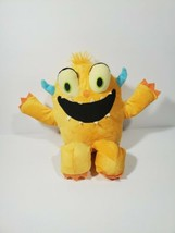 Kohls Cares Plush Monster 12 Inch Stuffed Yellow Stuffed Animal Gift Kids Toy - $22.56