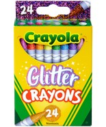 Crayola Crayons-Glitter 24/Pkg - $10.53