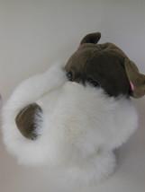 Dog Hand Puppet 9.5 inches Manhattan Toy Company FUN Beautiful plush - $8.16