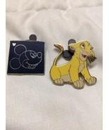 2002 Lion King Young Simba Walt Disney Collector's Trading Pin & Hidden ... - $9.95