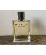 Miracle Lancome 3.4 Oz 100 Ml Eau De Cologne Spray Bottle - $147.51
