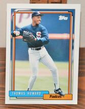 New Mint Topps trading card Baseball card 1992 Padres Thomas Howard 539 - $1.48