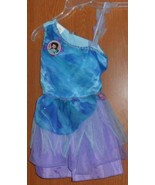 DISNEY TINKERBELL SILVERMIST FAIRY DRESS HALLOWEEN COSTUME GIRLS SIZE 4/6X - $16.99