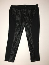 Lane Bryant Pants Mid Rise Skinny Plus Size 26 Inseam 29 Black NWOT - $20.90