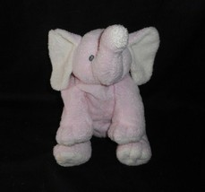 Ty 2006 Pluffies Winks Rosa & Amarillo Baby Elefante Peluche Juguete de Felpa - $43.17