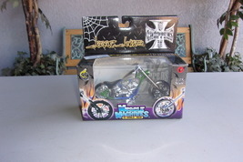 Jesse James El Diablo Rigid Green Blue Vintage Muscle Machines Choppers - $9.99