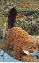 Rare Annie's Baby Animals Beaver Crochet Pattern - $8.99