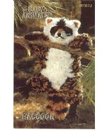 RARE ANNIE'S BABY ANIMALS~RACCOON CROCHET PATTERN - $14.99