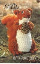Rare Annie's Baby Animals~Red Squirrel~Crochet Pattern - $8.99