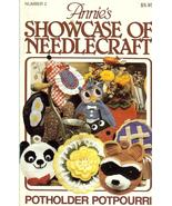 ANNIE'S SHOWCASE OF NEEDLECRAFT #2~CROCHET PATT... - £11.59 GBP