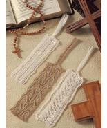 3 BEAUTIFUL~LACY BOOKMARKS~KNITTING PATTERN  - $1.99