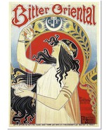 Bitter Oriental by Henri Privat-Livemont Vintage Poster Reproduction - $31.99+