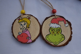The Grinch and Cindy Lou Who Set - $12.00