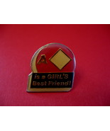 A Diamond Is A Girls Best Friend Lapel Pin Hat Pin Collector Souvenir Vi... - $4.99