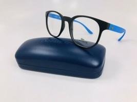 New KIDS Lacoste L3908 001 Black & Blue Eyeglasses 48mm with Lacoste Case - $74.20
