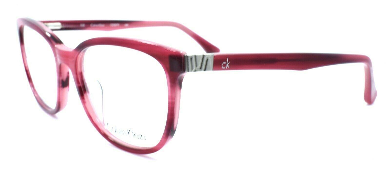 Calvin Klein CK5879 480 Women's Eyeglasses Frames 52-17-135 Striped Violet - $58.96