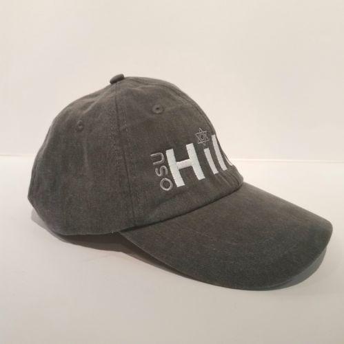 OSU Hillel Star Of David Baseball Cap Hat Leather Strap Back by Adams Cool-Crown