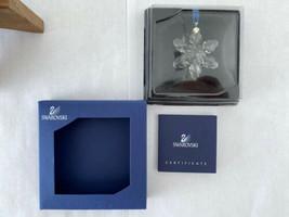 Swarovski Little Snowflake Ornament 2008 MIB #934706 - $58.44