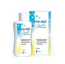 STIEFEL ACNE-AID LIQUID GENTLE CLEANSER 100ml  FOR SENSITIVE SKIN  - $17.99
