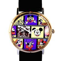 Mickey Disney Vintage Movie Character Roles Played Fossil unworn HTF Wat... - $137.46