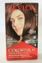 Revlon Colorsilk Beautiful Color - 33 Dark Soft Brown - $11.99