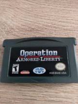 Nintendo Game Boy Advance GBA Operation: Armored Liberty image 2