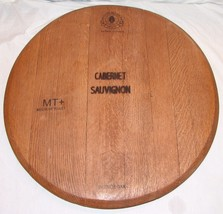 French Oak Cabernet Sauvignon Wood Cheese Tray ... - $34.58