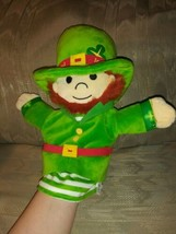 "Ashwood Leprechaun Hand Puppet Plush 11"" Ireland St Patricks Day Paddys ... - $39.59"