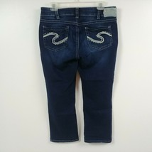 Silver Jeans Womens Suki Capri Jeans 32 Measures 32x23 Cropped Stretch M... - $31.04