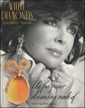 Elizabeth Taylor 1992 White Diamonds Perfume ad 8 x 11 advertisement print - $4.50