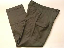 Lauren Ralph Lauren Mens Flat Front 92%wool Laine Dress Pants 34/34 - $14.84