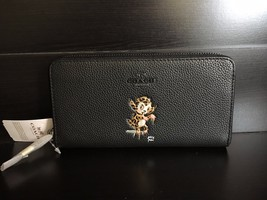 NWT Coach Baseman X Accordion Zip Wallet In Polished Pebble Leather F57390 - $89.99