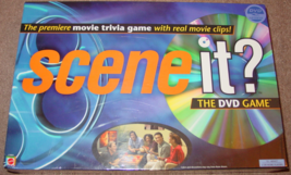 SCENE IT DVD GAME MOVIE TRIVIA MATTEL 2003  NEW FACTORY SEALED BOX - $20.00