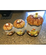 VINTAGE 1976 Sears & Roebuck Chicken Kitchen Canister Set - $74.64