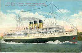 Steam Ship Princess Kathleen Vintage Post Card - $6.00