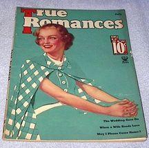 Vintage True Romances Magazine July 1935 Macfadden Georgia Warren - $7.95