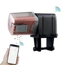 Automatic Aquarium Food Feeder Remote Control WIFI Wireless Fish Tank Au... - $22.17+